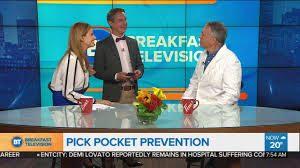 Nouvelles du magicien Robert Kurylo, le pickpocket professionnel, à l'émission Breakfast Television, avec Joanne Vrakas et Derick Fage